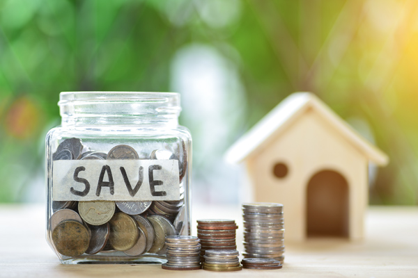 An example of a savings account that will need the help of home loans to tackle a home purchase